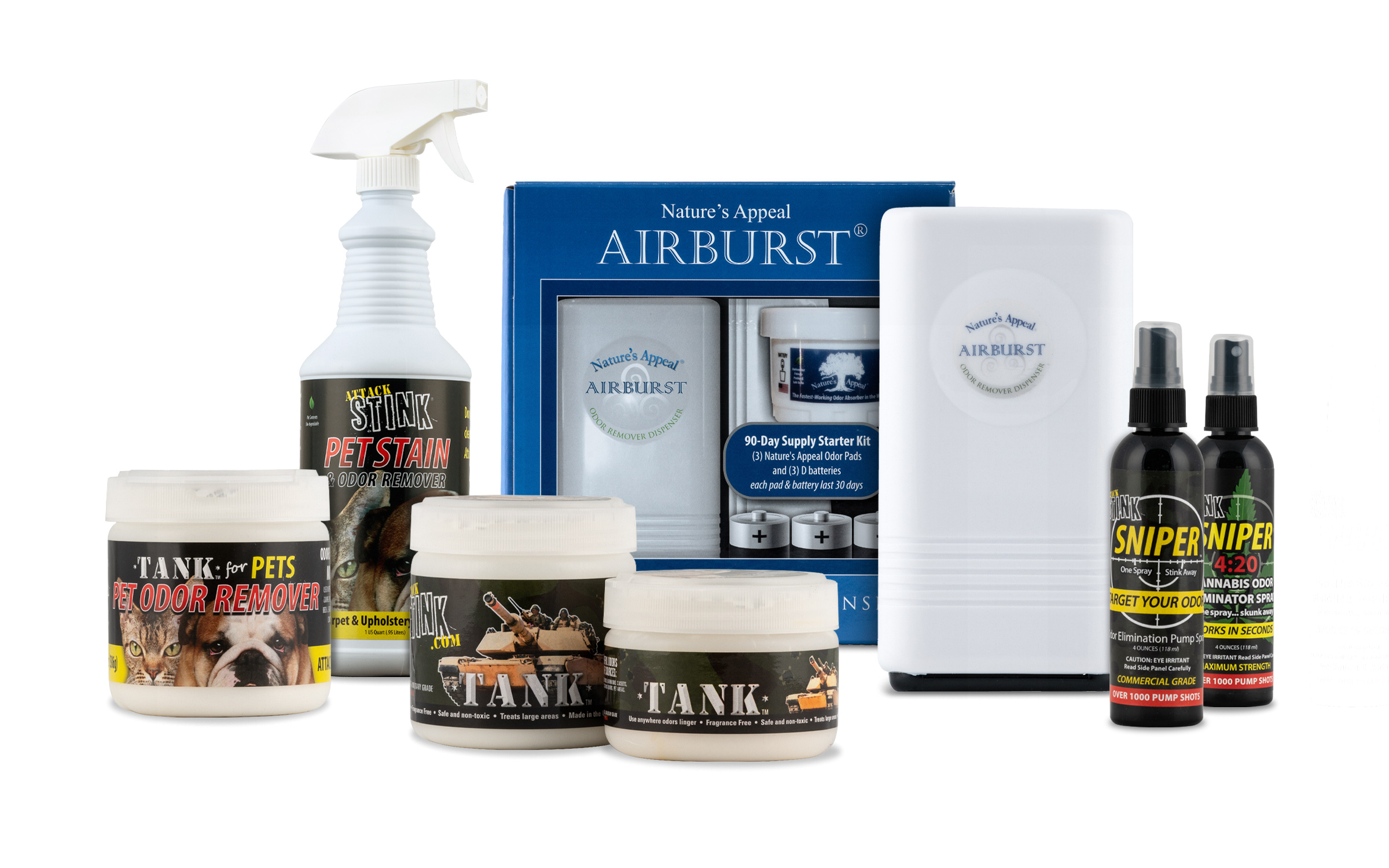 attack stink products